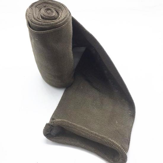 Basalt Knit Sleeve for Engine & Generator Exhaust Pipe Protection