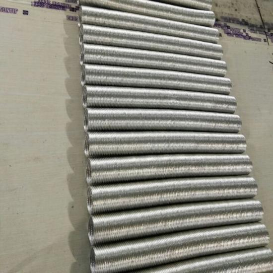 Aluminum Heat Reflective Insulated Corrugated Conduit Tubing