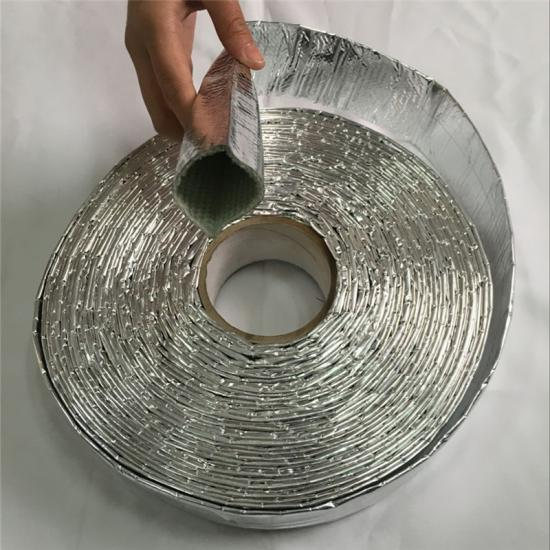 Reflective Aluminum Coated Fiberglass Wire and Cable Sleeving