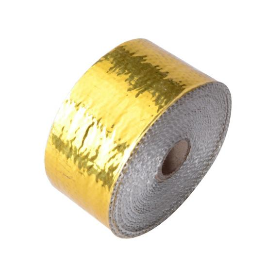 Exhaust heat shield wrap