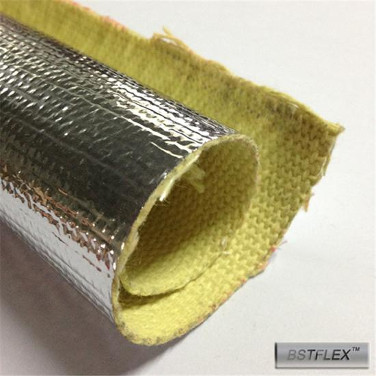 Heat Reflective Aluminized KEVLAR Thermal Barrier