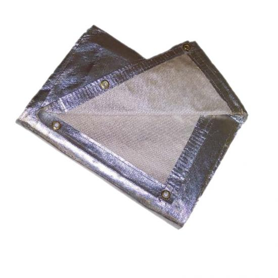 Aluminised Fabric Aluminised Fire Blanket