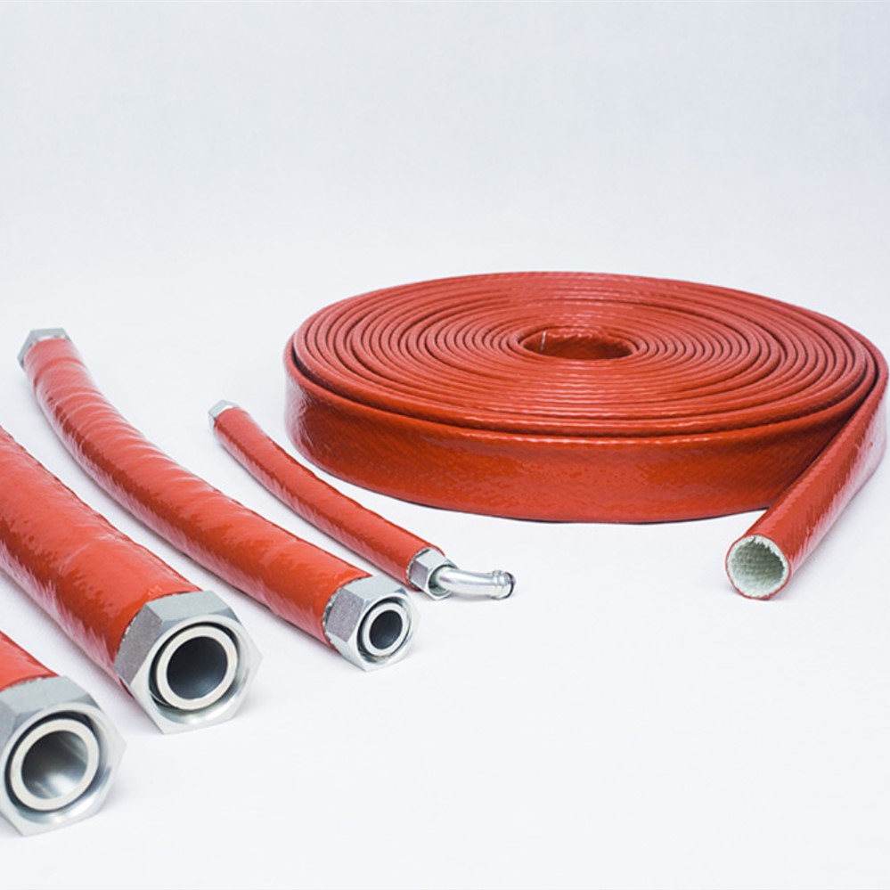 Hose Protector High Temperature Fire Sleeve Applications